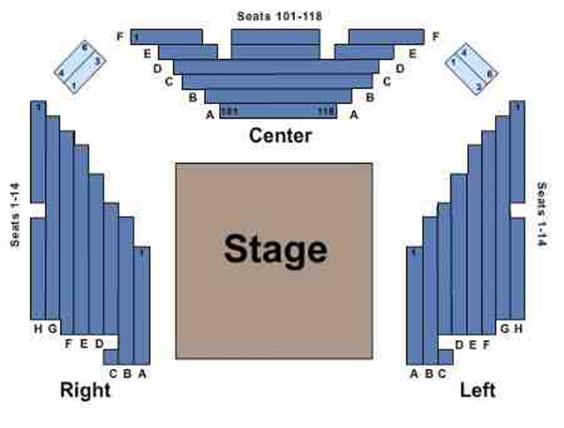 The Public Theater- Anspacher Theater Seating Chart