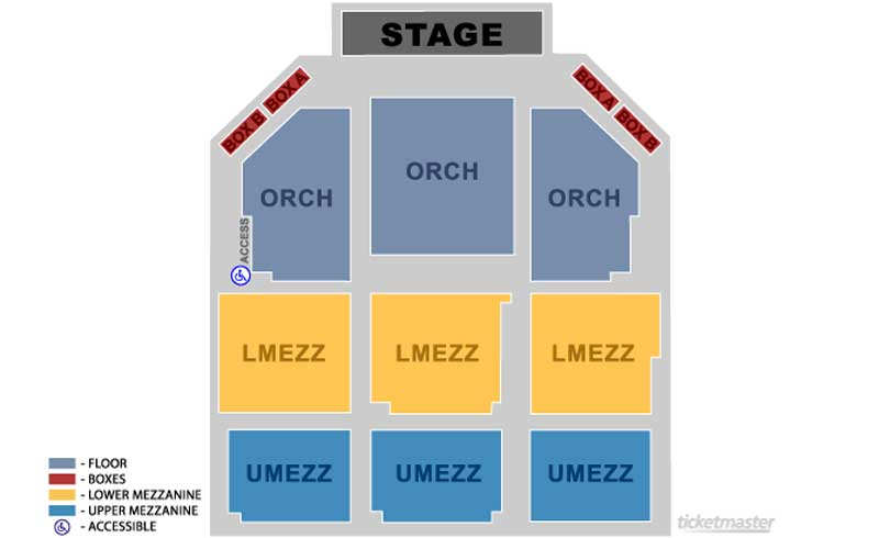 Apollo Theater Seating Chart