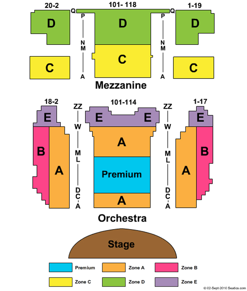 August wilson theatre seating chart theatre in new york