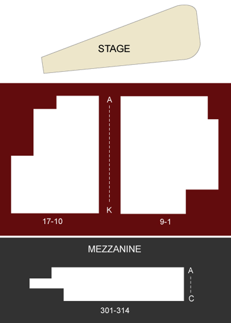 Barrow Street Theatre Seating Chart