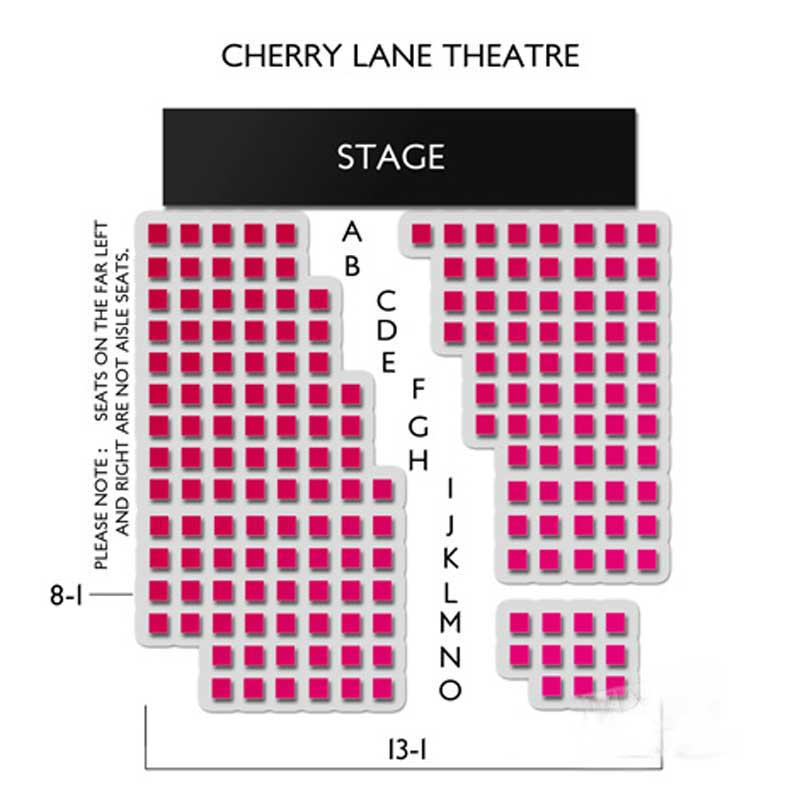 Cherry Lane Theatre Seating Chart