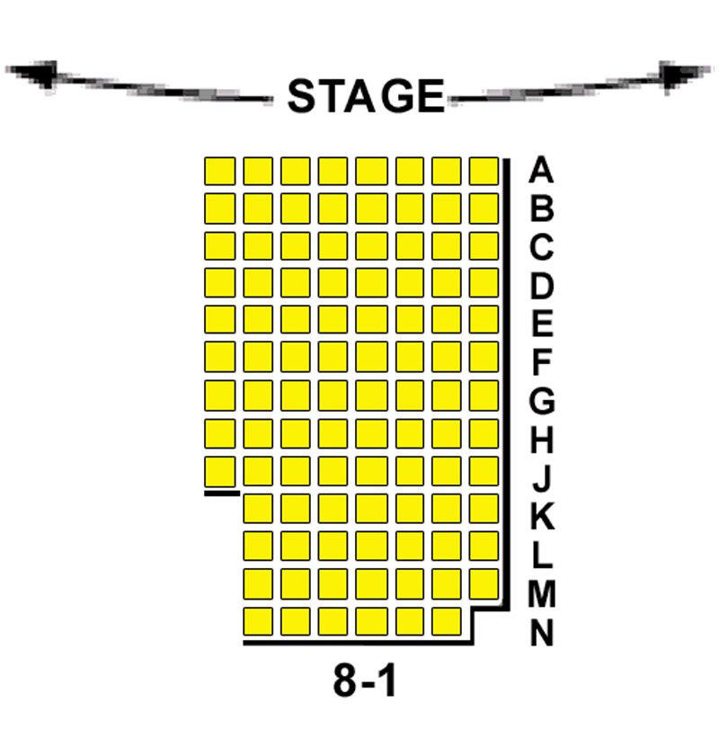 DR2 Theatre Seating Chart