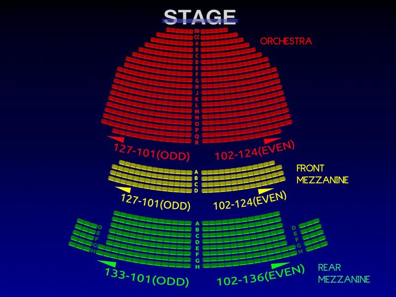John Golden Theatre Seating Chart