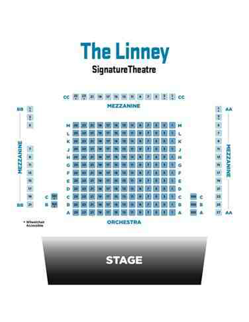 Linney Courtyard Theater Seating Charts