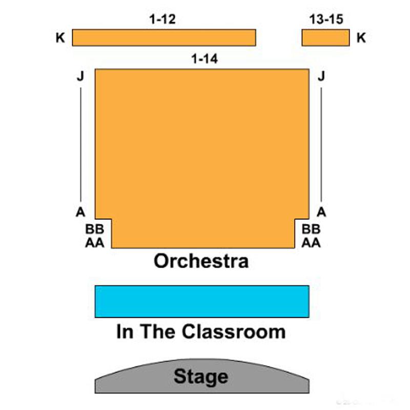 Manhattan Movement and Arts Center Seating Chart