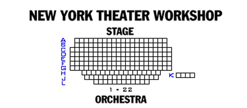 New York Theatre Workshop Seating Chart