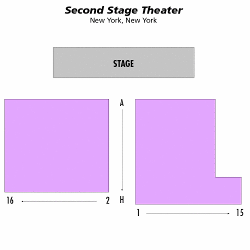 Second Stage Theatre Seating Chart