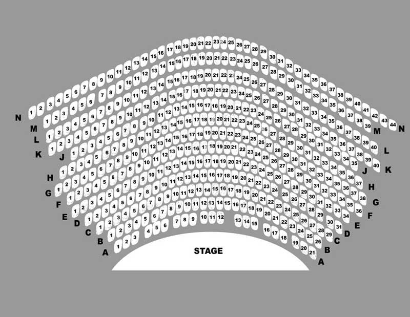 Surflight Theatre Seating Chart