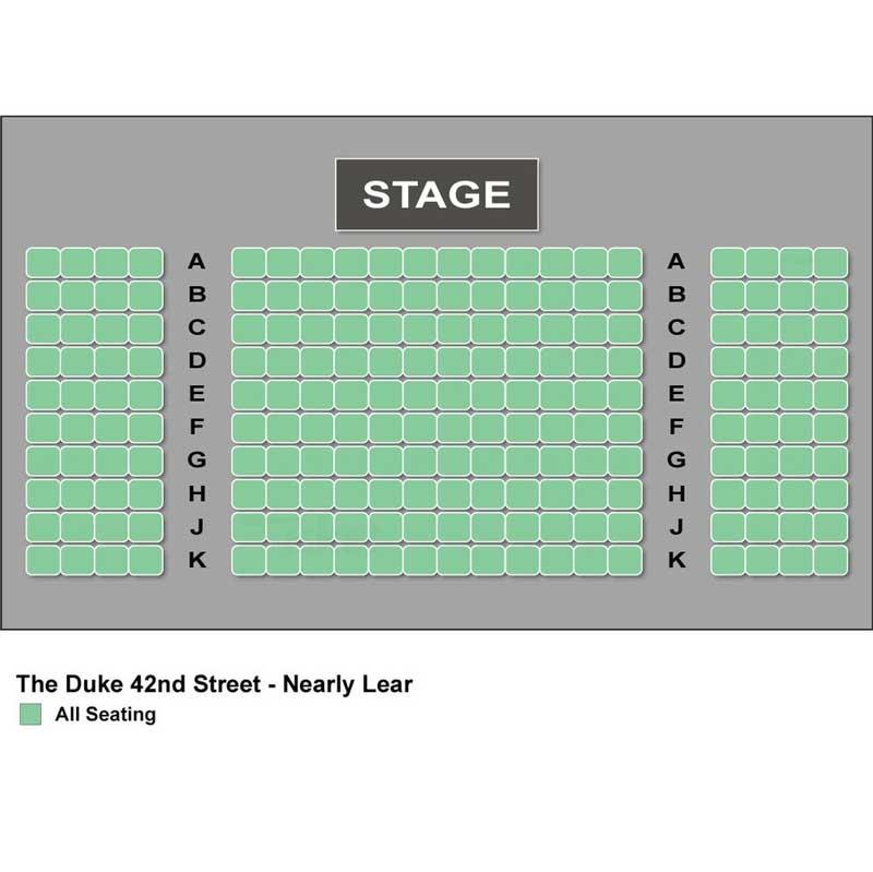 The Duke on 42nd Street Seating Chart