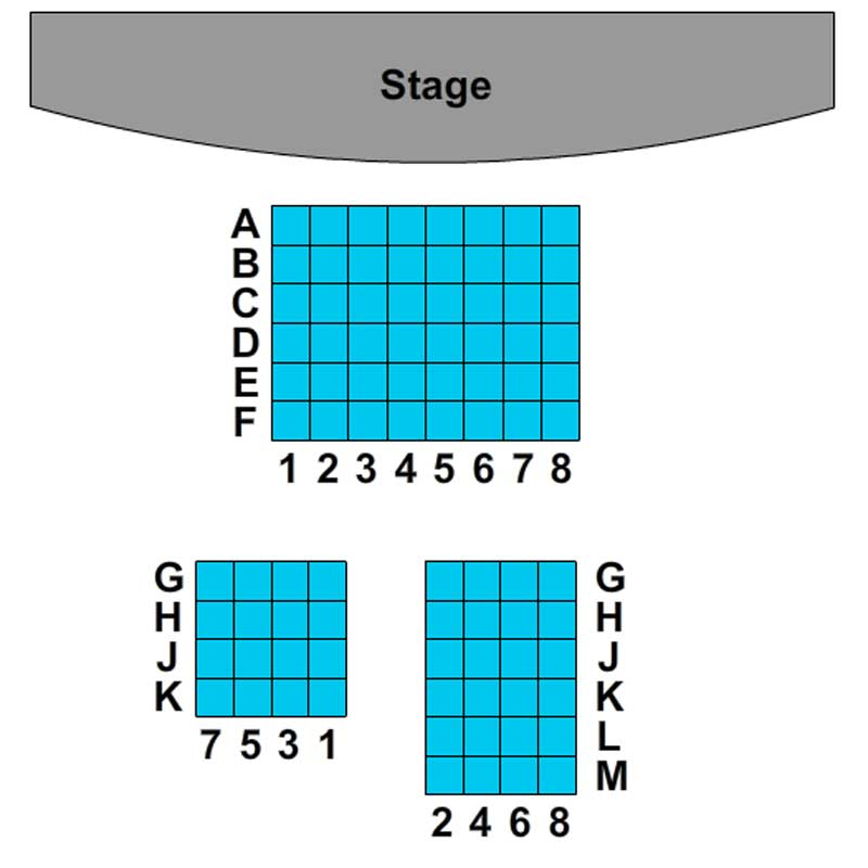 The Lion Theater Seating Chart