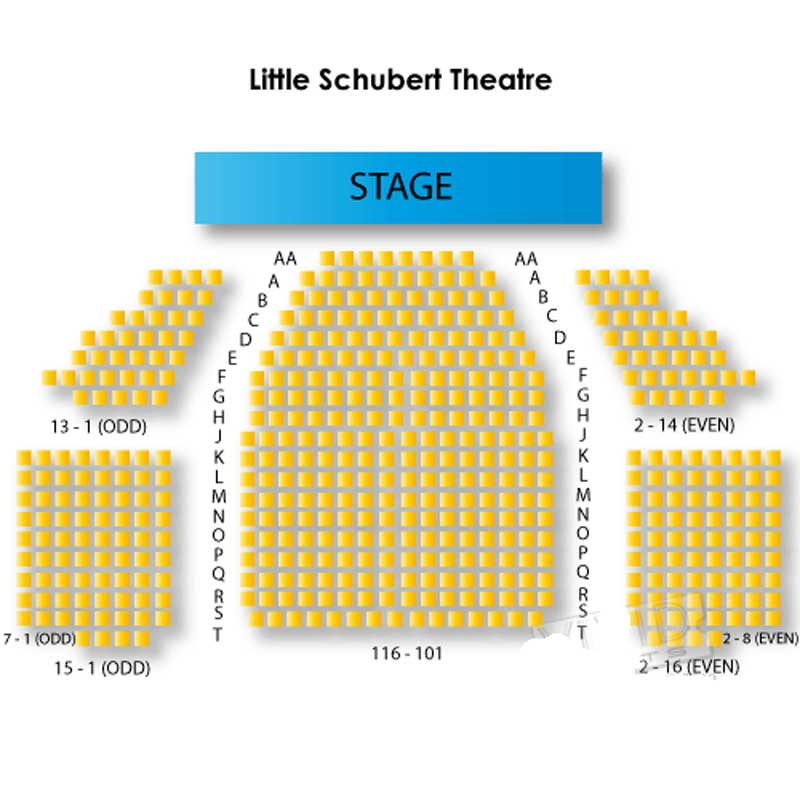 The Little Shubert Theatre Seating Chart