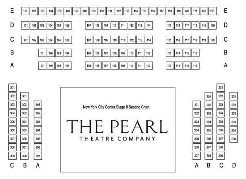 The Pearl Theatre Company Seating Chart