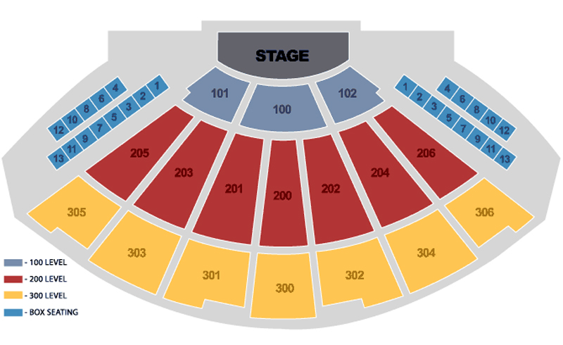 The Theater at Madison Square Garden Seating Chart